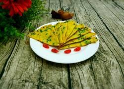 芝麻葱香鸡蛋饼