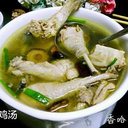 清炖土鸡汤