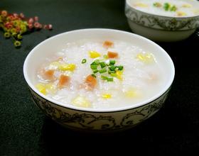 玉米火腿粥[图]