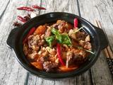 胡萝卜腐竹煲牛腩的做法[图]