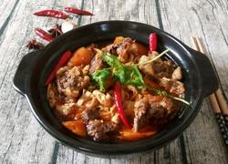 胡萝卜腐竹煲牛腩