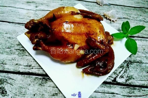 电饭锅蜂蜜酱油鸡