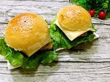 香酥鸡排芝士汉堡包的做法[图]