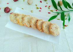 南瓜豆沙芝麻饼