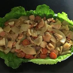 鱿鱼烩玉兰片