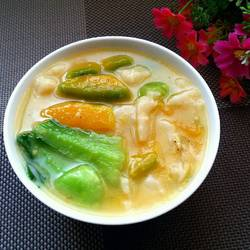 北瓜风味疙瘩汤