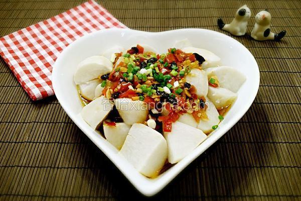 剁椒蒸香芋