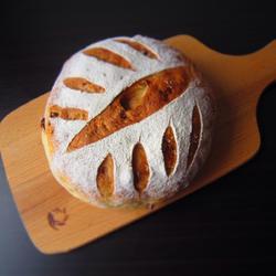 全麦红糖红枣软欧面包
