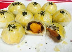 蛋黄酥月饼简单版