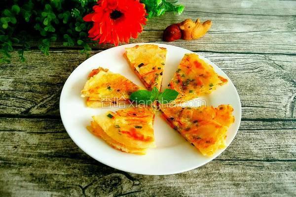 胡萝卜葱油饼