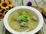 肉丸子冬瓜汤的做法[图]