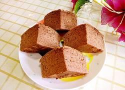 可可海绵蛋糕(分蛋打发)