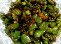 毛豆米炒辣椒