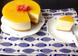 芒果酸奶慕斯蛋糕(六寸)