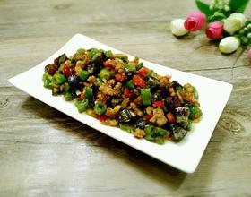 尖椒皮蛋炒肉末[图]