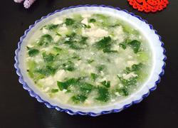 青菜豆腐羹