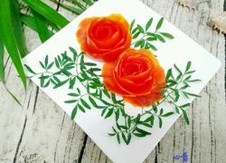 西红柿皮花