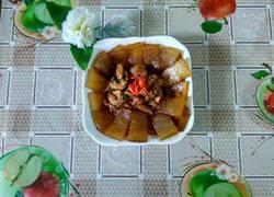 鸡肉炒冬瓜
