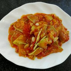 西红柿茭白~家常菜