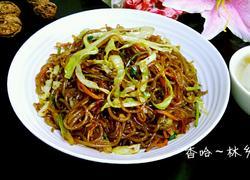 卷心菜炒苕粉丝