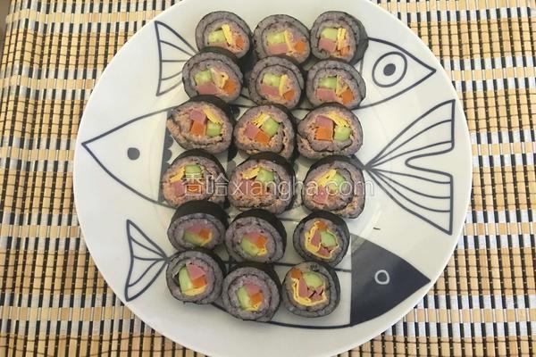 金枪鱼双米寿司