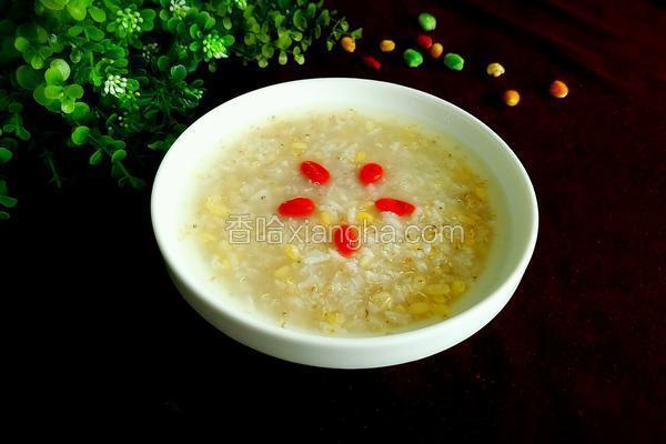 藜麦绿豆糯米粥