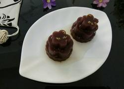 桂花紫薯糕