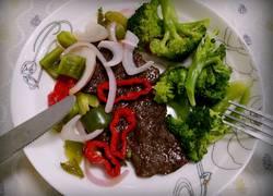 西式烤牛排(黑椒)