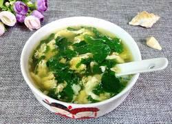 豇豆叶鸡蛋汤