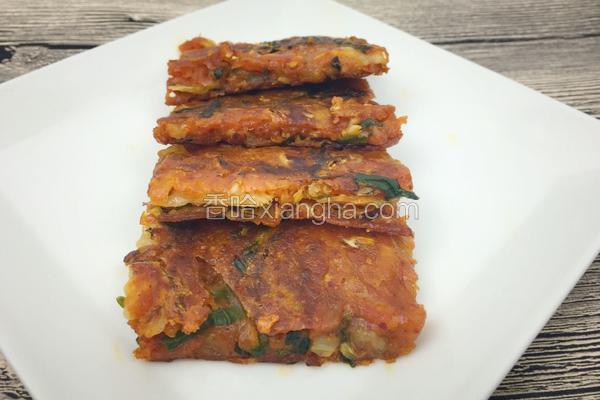 泡菜饼的做法大全_韩式泡菜饼的做法_菜谱_香哈网