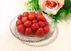 桂花蜜汁圣女果