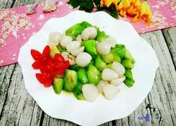 鲜荔枝炒丝瓜