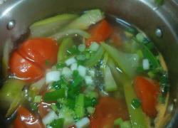 蕃茄丝瓜汤