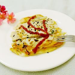 饺子皮版烧饼