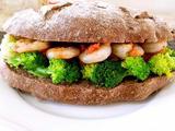 鲜虾蔬菜堡的做法[图]
