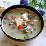 牡蛎豆腐汤