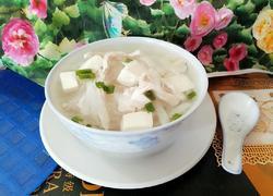 瘦肉豆腐汤