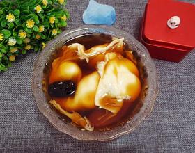 黑糖桂圆鸡蛋汤