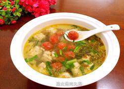 圣女果肉丸汤
