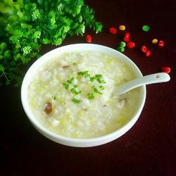 白米蔬菜粥