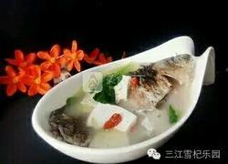 枸杞鲫鱼豆腐汤