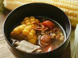 虫草花干贝玉米汤的做法[图]