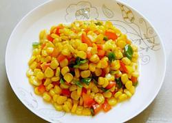 彩椒炒玉米
