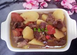咖喱土豆牛腩汤