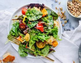 圣女果蔬菜沙拉[图]