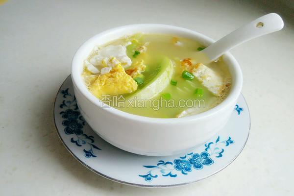 黄瓜鸡蛋汤(幸福的味道)