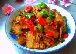 豆豉双椒炒五花肉