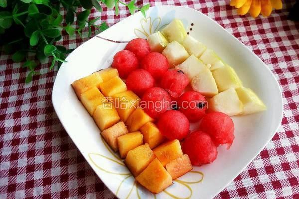 西瓜水果拼盘