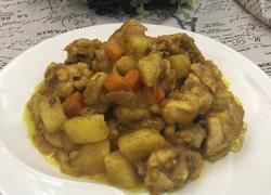 咖喱土豆香焖鸡翅