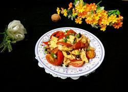 圣女果炒鸡蛋